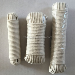 16 strands biodegradable braided cotton rope