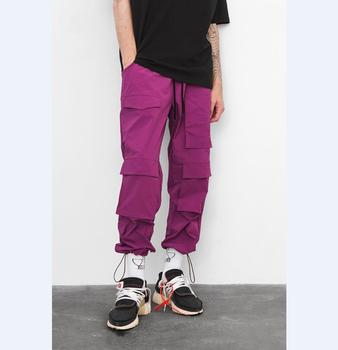 hip hop pants men Elastic Waist Windbreaker Sweatpants Harem Track Pants 2019 Spring/Autumn Hip Hop Casual Street Trousers