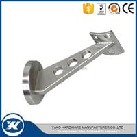stainless steel glass shelf bracket glass holder made in Jiangmen