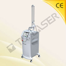 (TUV Medical CE)RF-Excited laser co2 fractional machine with cutting mode and scan mode for skin resurfacing