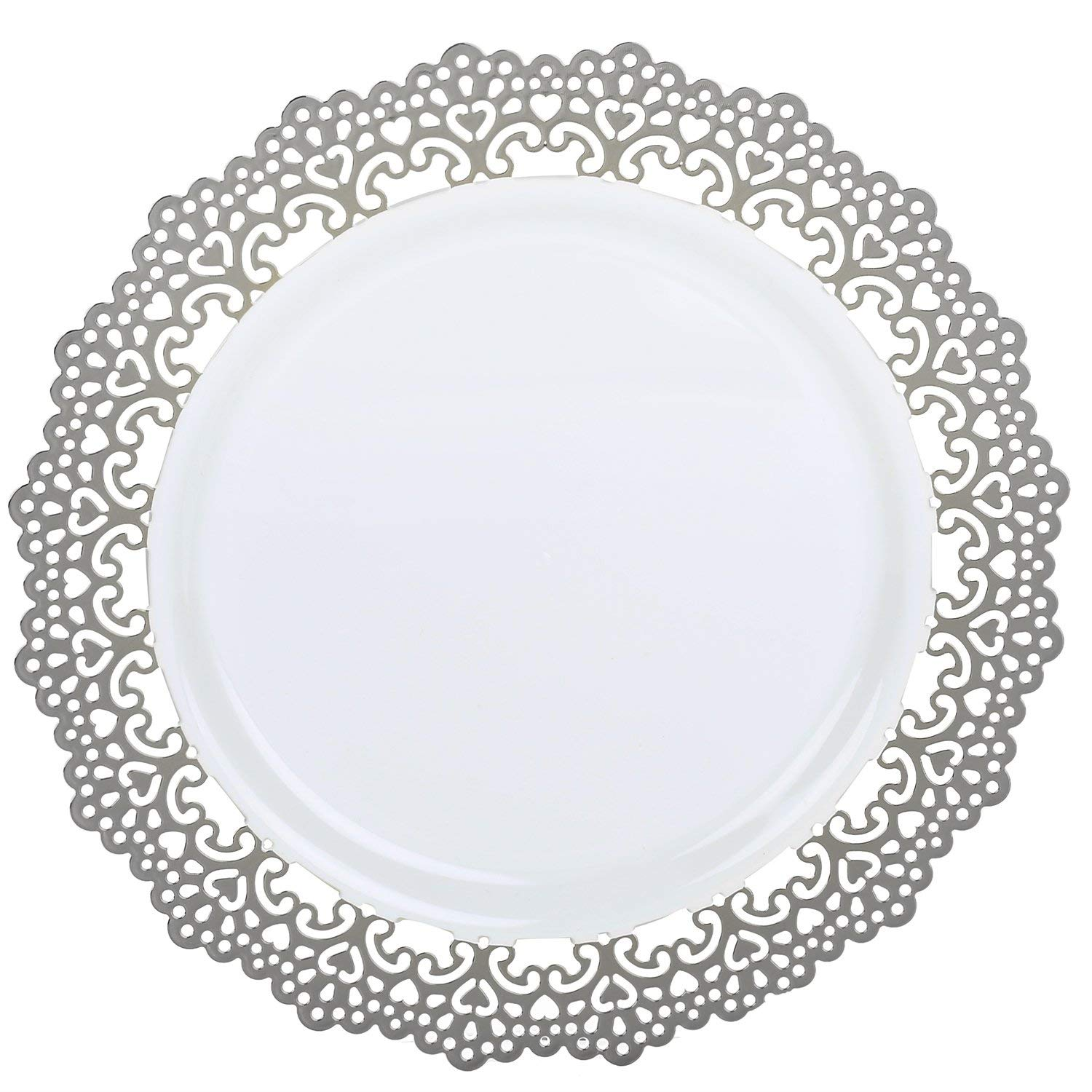 Cheap Plastic Plates Silver Find Plastic Plates Silver Deals On