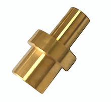 High quality cnc turning machining mechanical brass parts
