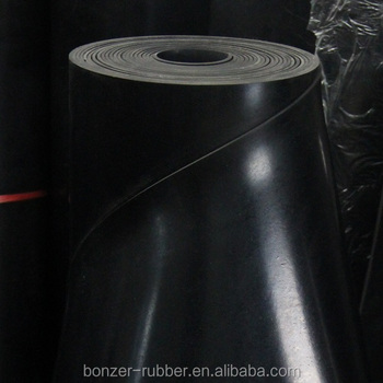 heat resistant FKM / FPM Viton rubber sheets for sale