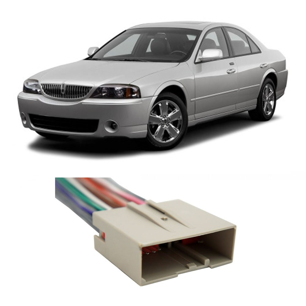 Get Quotations · Lincoln LS (w/o nav) 2003-2006 Factory to Aftermarket  Radio Harness