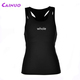 Custom racerback women gym singlet breathable tank tops