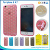 "3D Simple Football Texture TPU Cover Case For iPhone 6 4.7"", For iPhone 6 Unique Case"