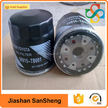 Chinese manufacture oil filter high quality toyota oil filter oem 90915-TB001