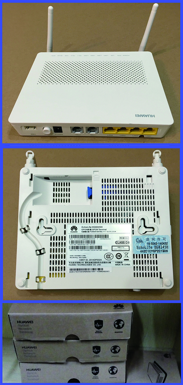 Huawei Hg8245h Echolife Ont With Wifi Function And 4*ge Ports - Buy Huawei  Hg8245h,Huawei Ont,Hg8245h Product on Alibaba com