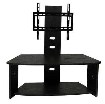Black Mdf Led Tv Stand Corner Tv Stand Living Room Lcd Tv Stand ...