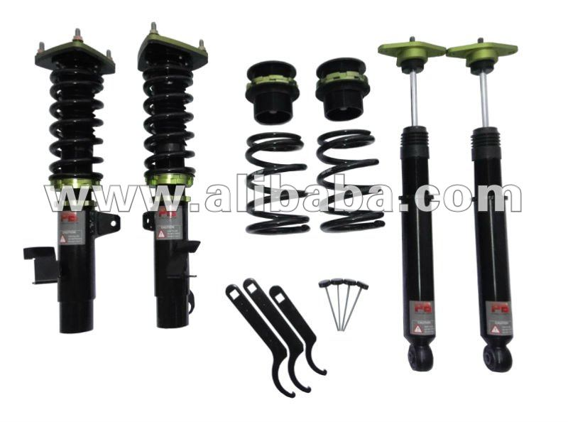 audi a3 s3 a4 b5 b6 kit d 39 amortisseur de suspension de coilovers du pb b7 syst me de. Black Bedroom Furniture Sets. Home Design Ideas