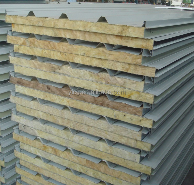 Structural Roof Sandwich Panels : Structural corrugated metal composite roofing panels buy