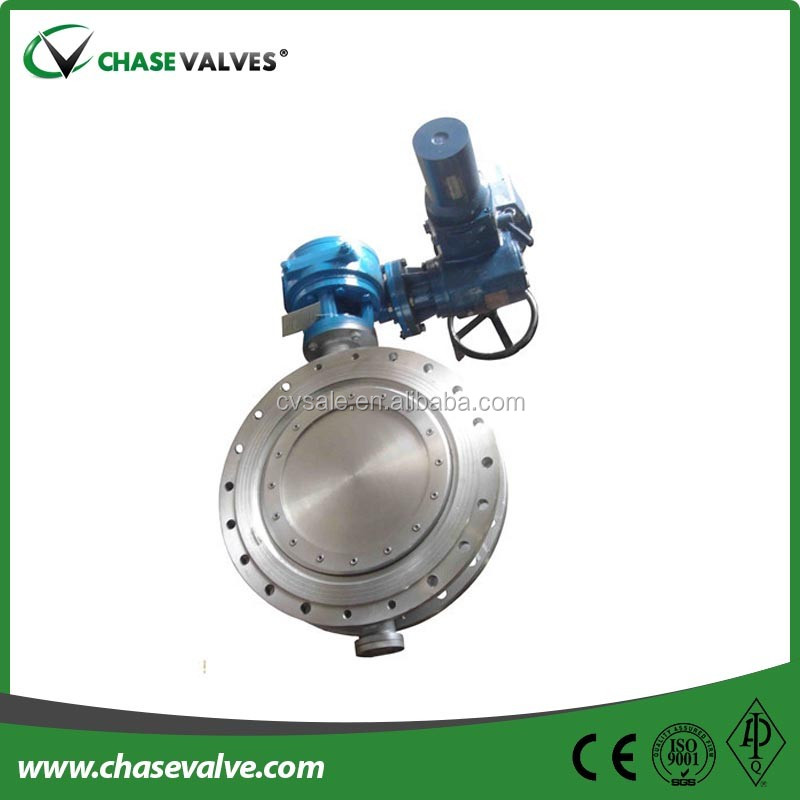 Api 609 Stainless Steel Metal Seat Triple Offset Butterfly Valve ...