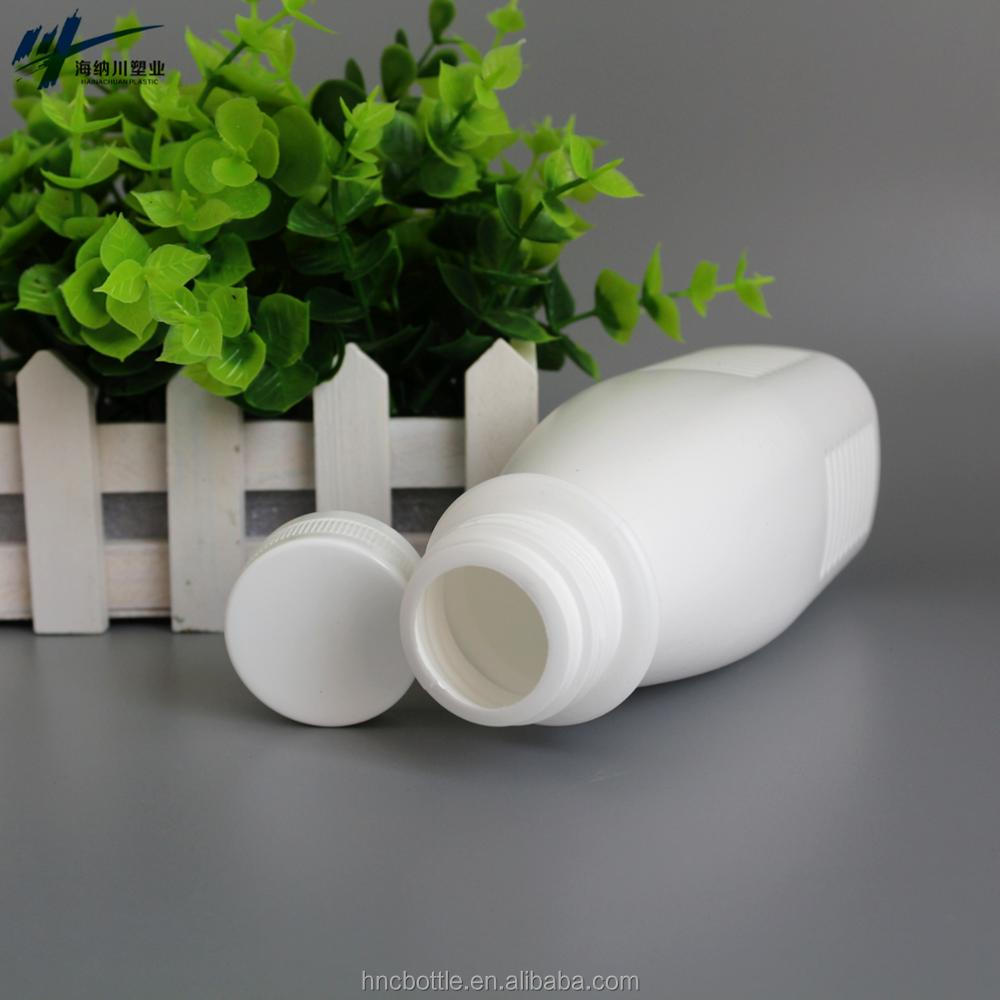 250ml Creamer Dispenser Container White Square Plastic Bottle for energy drink