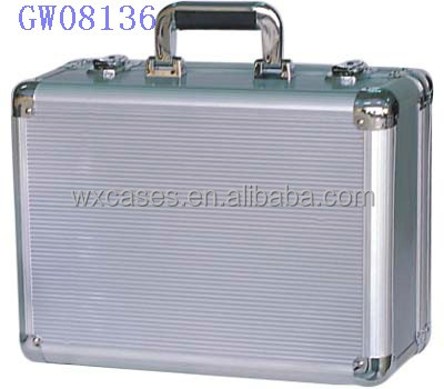 high quality!strong&portable aluminum metal suitcase manufacturer