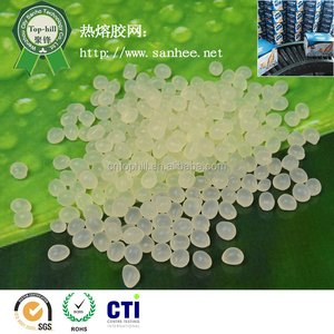 Ethylene Vinyl Acetate Copolymers(EVA) Hot Melt Adhesive Granule For Automatic Carton Or Paper Packing 8767T