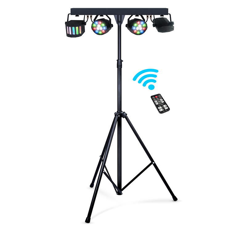 2019 hot sales 60W DMX Can Light Sets RGBW Led Par Bar Stage Lighting With Stand