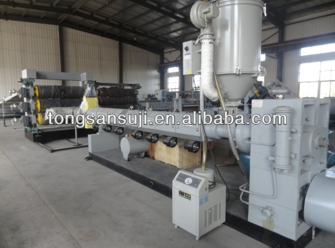 PP/PE/HIPS/ABS plastic board /sheet extrusion line, plastic board making machine