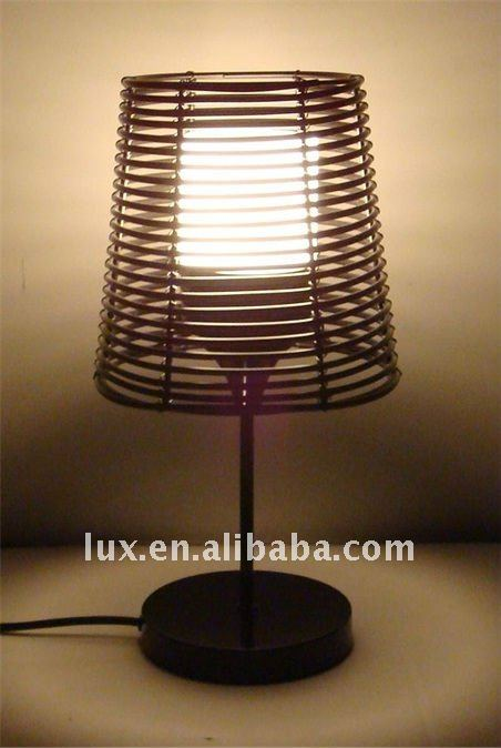 Outdoor Rattan Table Lamp LS-JT333