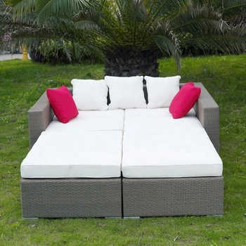 Cheap Patio Oval Garden Heart Daybed Sunbed Sofa Double Deck Bed Rattan Outdoor Furniture Buy Cheap Outdoor Patio Daybed Sofa Bed Double Deck Bed