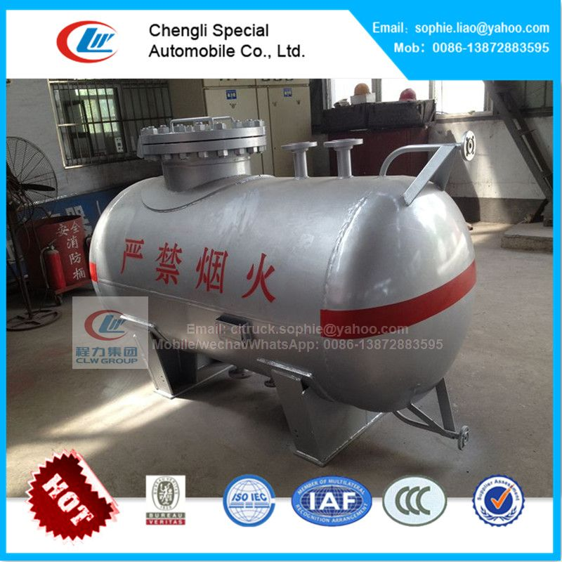 lpg station equipment 8000 Liters gas storage tank for sale