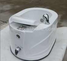 Shikang China factory wholesale acrylic pedicure sink with jets