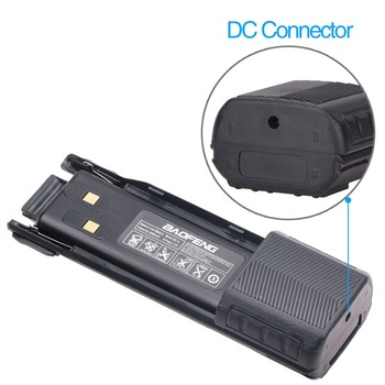 2Pcs BAOFENG UV-82 BL-8 7.4V 3800mAh Li-ion Battery with DC Connector For Baofeng Walkie Talkie BF-UV82 UV-82HP UV 82 Plus Radio