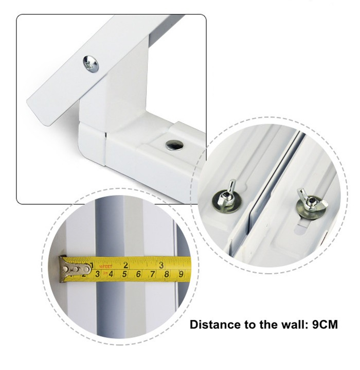 Extend Microwave Oven Wall Mount Bracket Wall Support For
