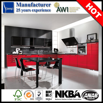 China Factory Modern Design Kitchen Full Modular Whole ...