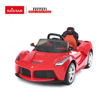 Rastar Ferrari Children Electric Ride On Car Riding Toys For Kids