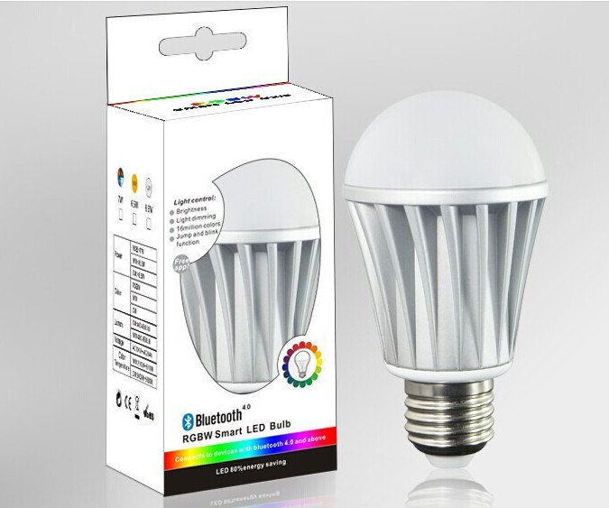 Arrival New 2016 Home Lighting Wifi Led Bulb,Bluetooth E27 Smart ...
