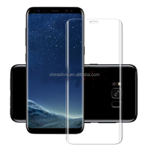 2017New9H 3D Full Curved Screen Protector Tempered Glass For Samsung Galaxy S8 S8 plus With Multi Color