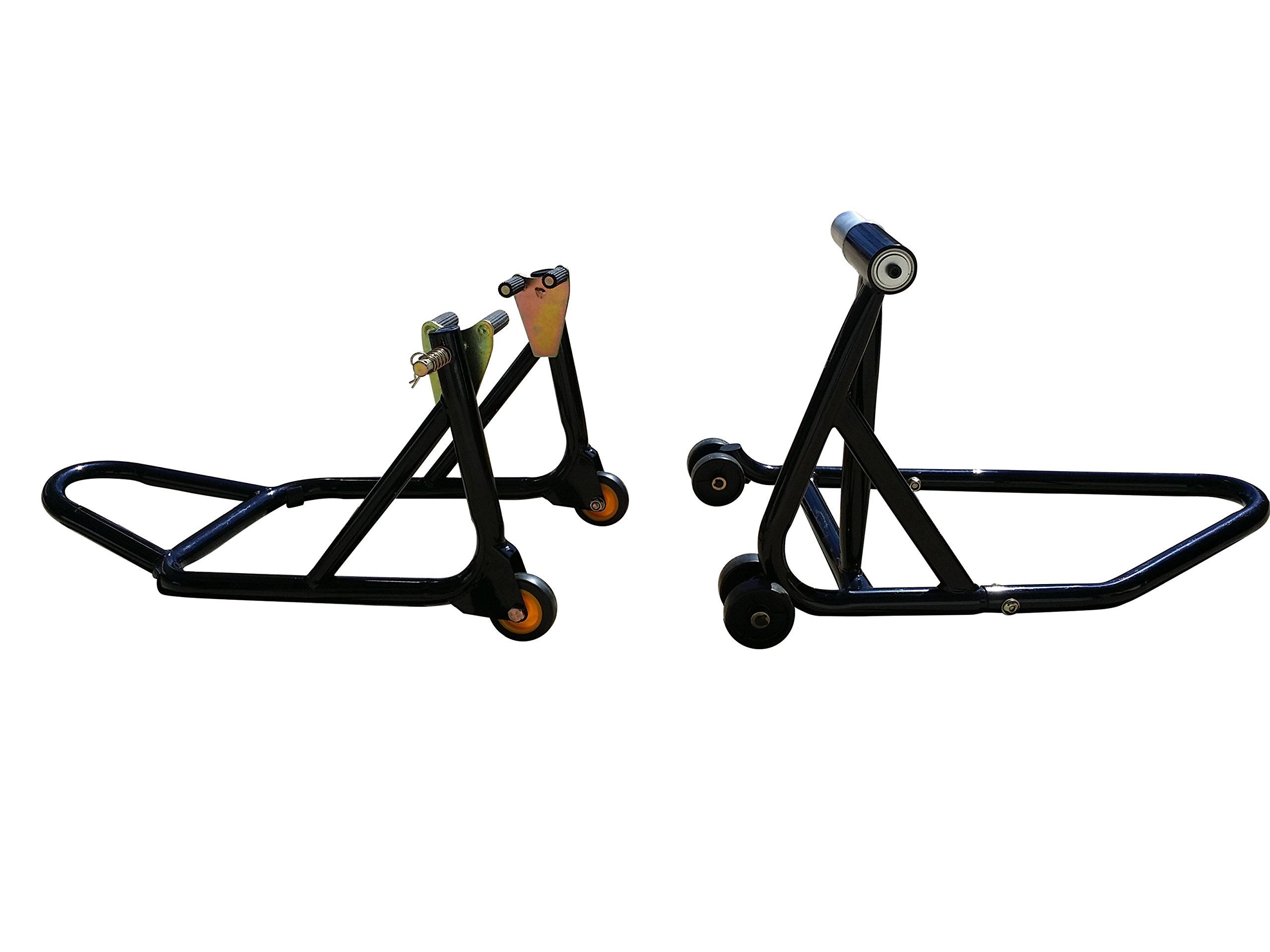 Front Forklift and Rear Stand for Ducati 748, 848, 848 Streetfighter, 916, 996, 998, HyperMotard, 5 bolt rear axle models