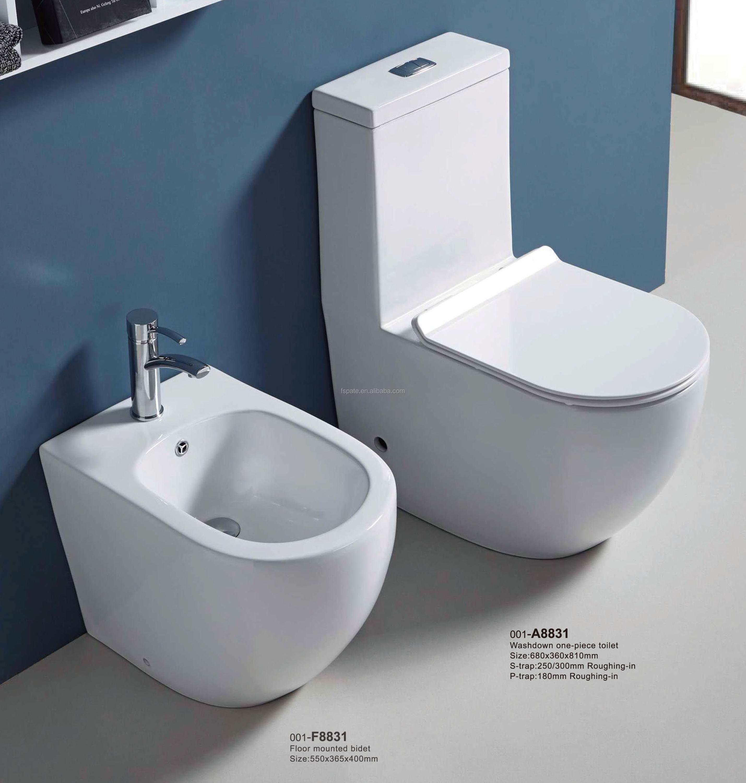 China Supplier Ceramic Sanitary Ware Bathroom One Piece Hygiene