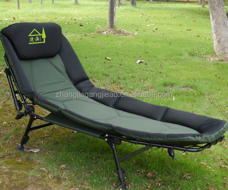 fishing bedchair folding outdoor fishing carp bed chair