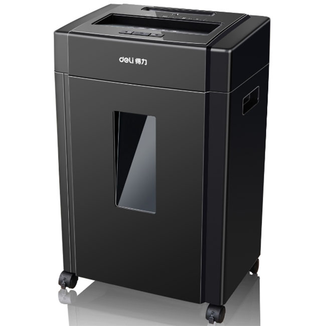 Office Mute High Power Automatic Disc / Card / File / Paper / Shredder