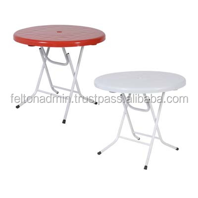 Plastic Round Foldable Table