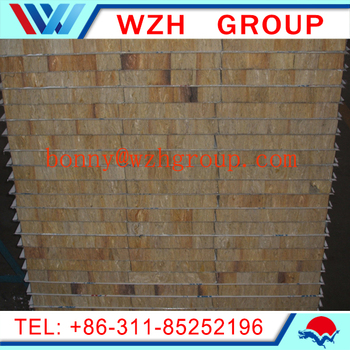 Fire rated sandwich panel rockwool wall panel sip panel for Rockwool fire rating
