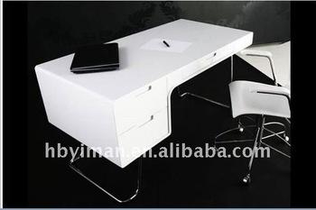 Charmant New Modern MDF High Gloss Office Desk
