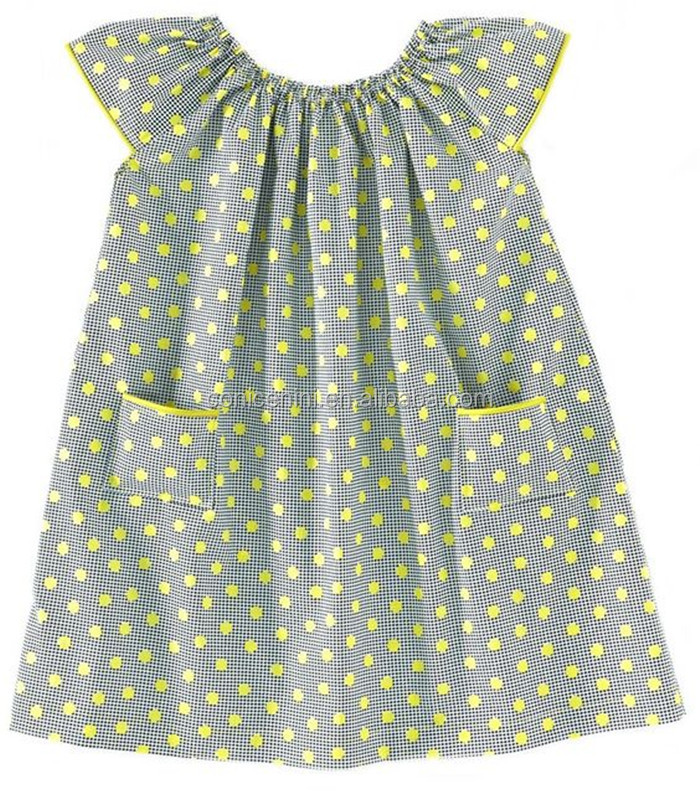 CONICE NINI fashion polka dots flutter sleeve simple designs summer dress