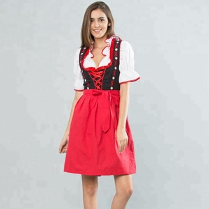 Studio M 3-Piece women dirndl with Ruffles