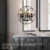 E14 Candle bulb Hanging Chandelier retro Pendant Lamp