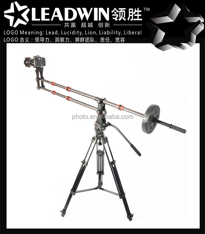 trending hot products Professional carbon fiber photo video dslr forklift jib