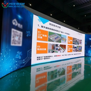 P3 Flexible Advertising LED Video Wall Module LED Display Screen