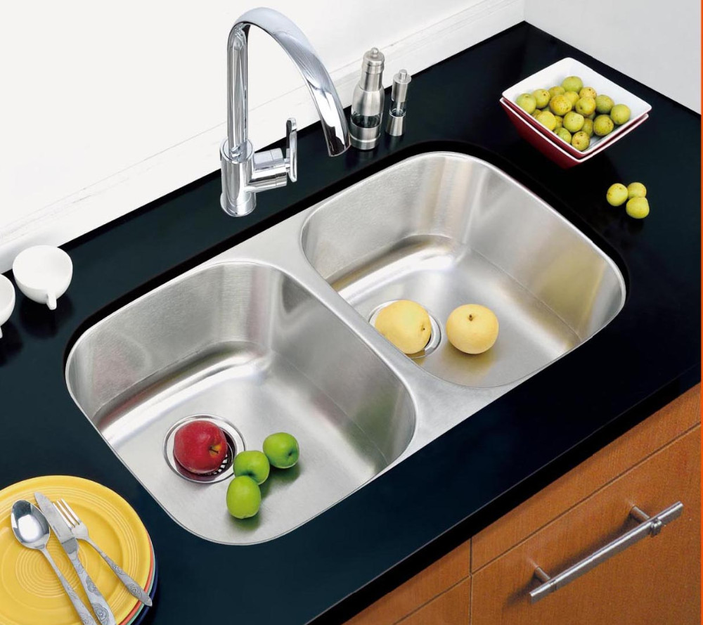 Above counter kitchen sink with drain board buy moduled sink sink with drain board above - Kitchen sink draining board ...