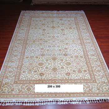 Hand Knotted 100 Pure Silk Iran Rugs