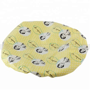 Wholesale Customized Waterproof Hotel Plastic Disposable Shower Cap