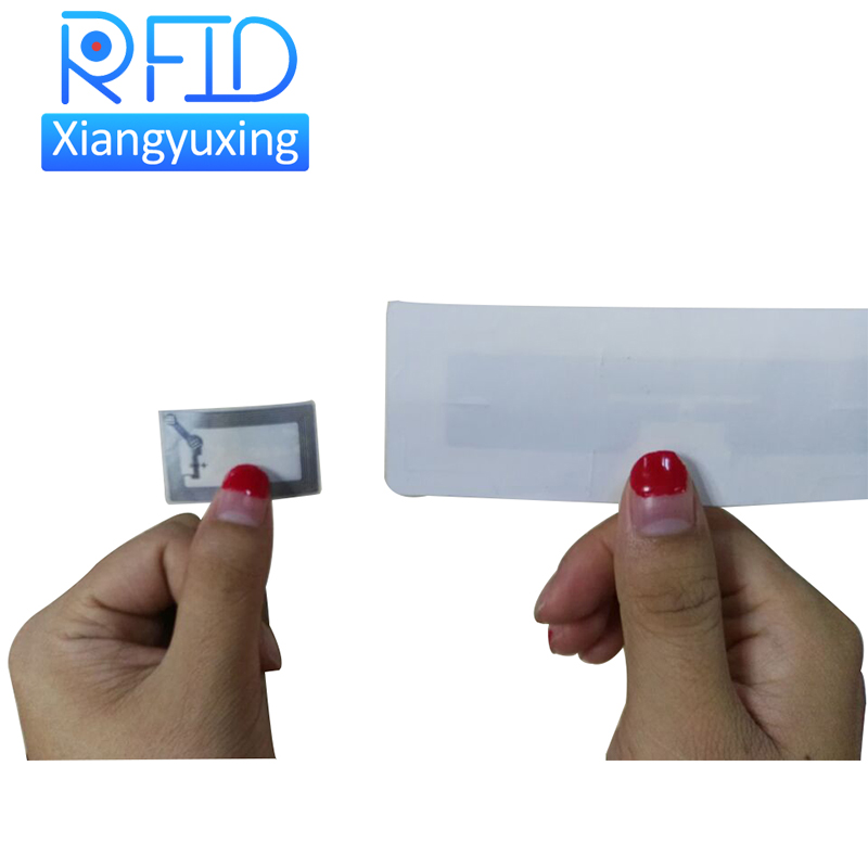 Small RFID LF sticker tags 125khz Washable NFC paper tag