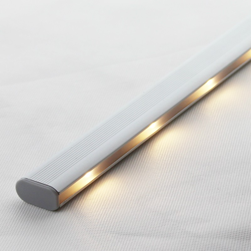 Motion Sensor LED Wardrobe Rod With Battery