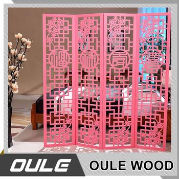 Living Room Decorative Mini Wooden Folding Screen - Buy Wooden ...