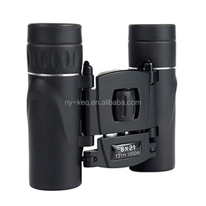 8x21 Folding Roof Prism Compact Pocket Mini Binoculars for outdoor birding, travelling
